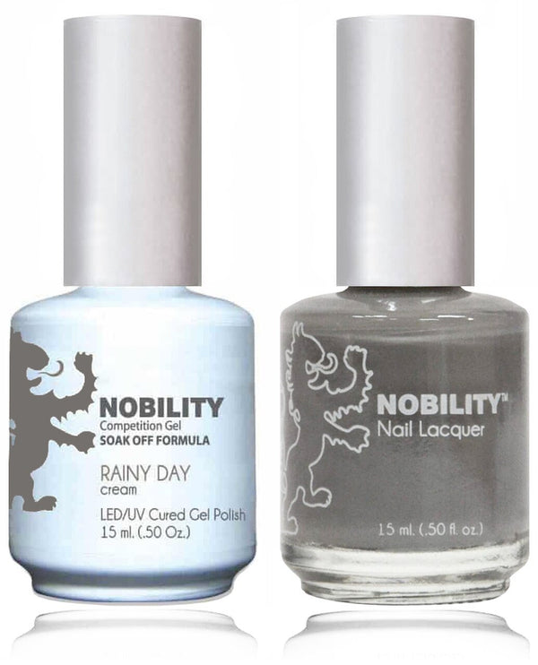 NBCS042 - NOBILITY GEL POLISH & NAIL LACQUER - RAINY DAY 0.5oz
