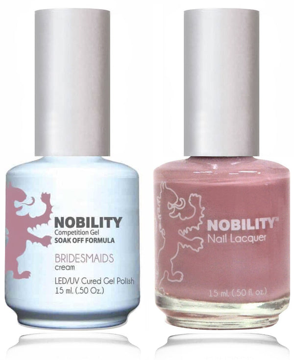 NBCS064 - NOBILITY GEL POLISH & NAIL LACQUER - BRIDESMAID 0.5oz