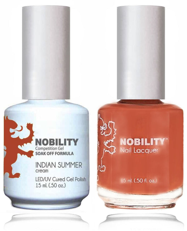 NBCS093 - NOBILITY GEL POLISH & NAIL LACQUER - INDIAN SUMMER 0.5oz