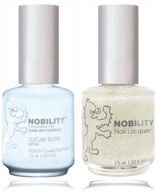 NBCS180 - NOBILITY GEL POLISH & NAIL LACQUER - SUGAR RUSH 0.5oz