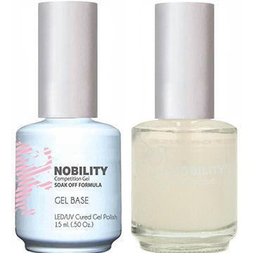 NBBS1 - NOBILITY GEL POLISH & NAIL LACQUER - BASE COAT 0.5oz
