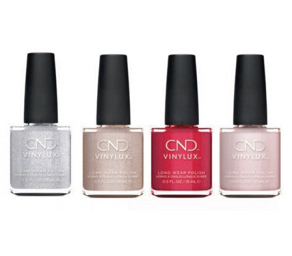 CND VINYLUX NIGHT MOVE COLLECTION SET OF 4 COLORS