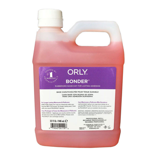 ORLY BONDER - RUBBERIZED BASE COAT 32oz