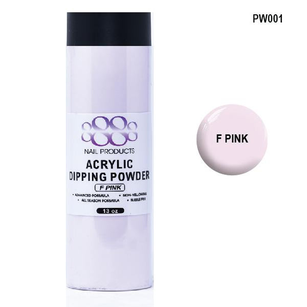 8888 OMBRE POWDER DIP - ACRYLIC - F PINK