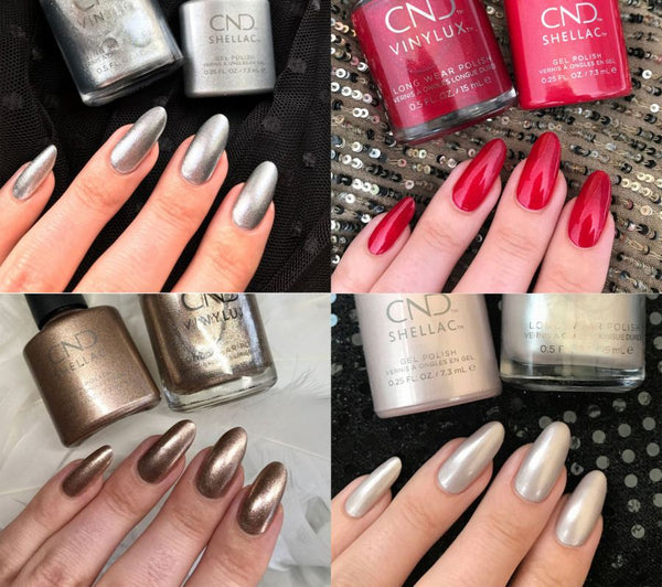 CND SHELLAC NIGHT MOVE COLLECTION SET OF 4 COLORS