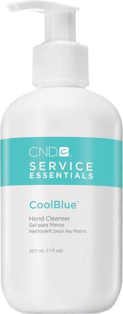 0120 - CND COOLBLUE HAND CLEANSER 7oz (NO RETURN, NO EXCHANGE DISINFECTING PRODUCTS)