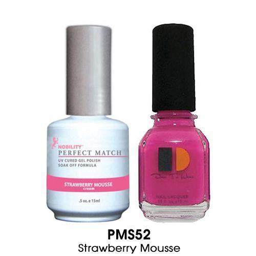 PMS052 - STRAWBERRY MOUSSE