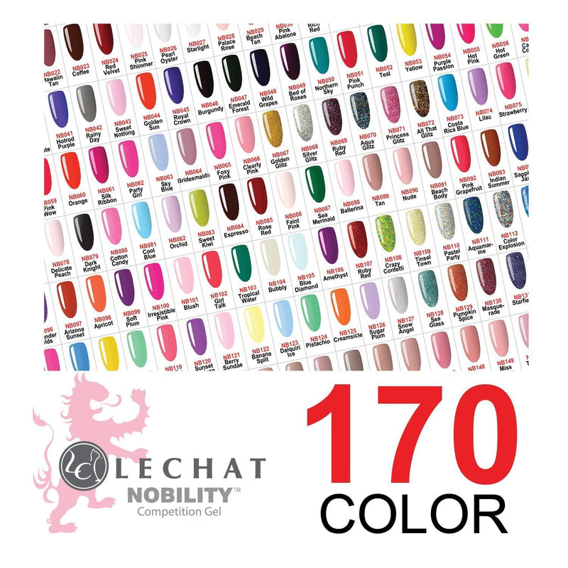 LECHAT NOBILITY FULL LINE 170 COLORS/ FREE TOP & BASE
