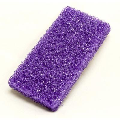 MINI PUMICE DISPOSABLE BUFFING PAD  - PURPLE - 400pcs/box - ONLINE