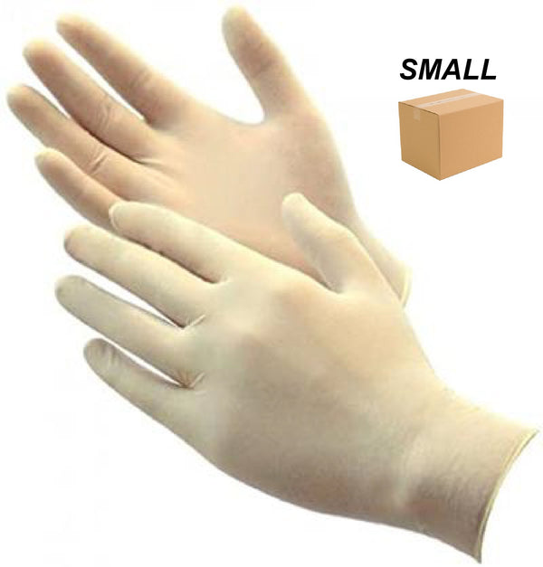 LATEX GLOVE POWDER FREE - SMALL - 1 CASE (10BOXES) - ONLINE