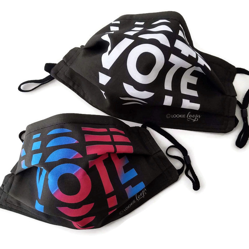 VOTE Custom Fabric Face Mask