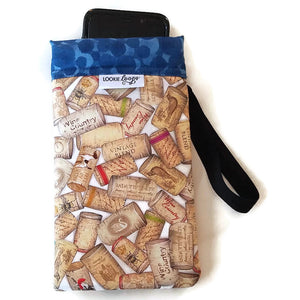phone inside xl uncorked cell phone or sunglass pouch