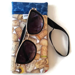 sunglasses outside classic uncorked cell phone or sunglass pouch