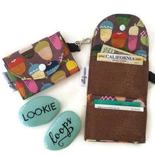 Load image into Gallery viewer, Acorn Print Grab & Go Wallet - Grab & Go Wallets