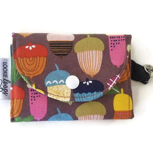 Acorn Print Grab & Go Wallet - Grab & Go Wallets