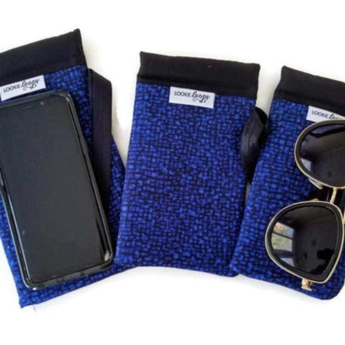 Bedrock Cobalt Cell Phone or Sunglass Case - Cell Phone /