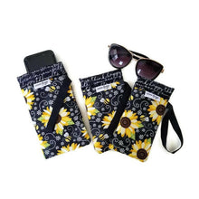 Load image into Gallery viewer, Bee Happy Cell Phone or Sunglass Case - Cell Phone /
