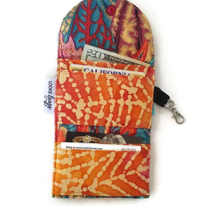 Coleus Leaves Grab & Go Wallet - Grab & Go Wallets