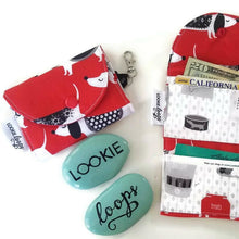 Load image into Gallery viewer, Doggie Print Grab & Go Wallet - Grab & Go Wallets