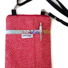 Load image into Gallery viewer, Doodle Blooms Fabric Crossbody Bag - Crossbody Bags