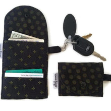 Load image into Gallery viewer, Ebony Onyx Grab & Go Wallet - Grab & Go Wallets