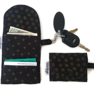 Ebony Onyx Grab & Go Wallet - Grab & Go Wallets