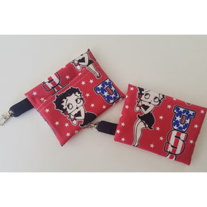Face Mask Clean & Carry Pouch (various patterns) - Betty