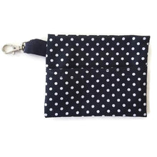 Load image into Gallery viewer, Face Mask Clean & Carry Pouch (various patterns) - Dots on