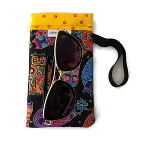 Feline Frolic Cell Phone or Sunglass Case - Cell Phone /