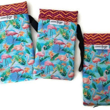 Load image into Gallery viewer, Flamingos Cell Phone or Sunglass Case - Cell Phone /