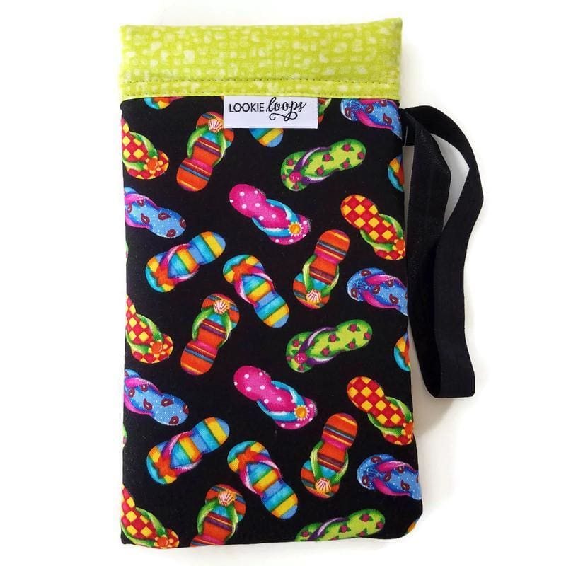 Flip Flops Cell Phone or Sunglass Case - Cell Phone /