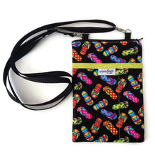 Load image into Gallery viewer, Flip Flops Fabric Crossbody Bag - Crossbody Bags