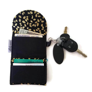 Gold Leaf Grab & Go Wallet - Grab & Go Wallets