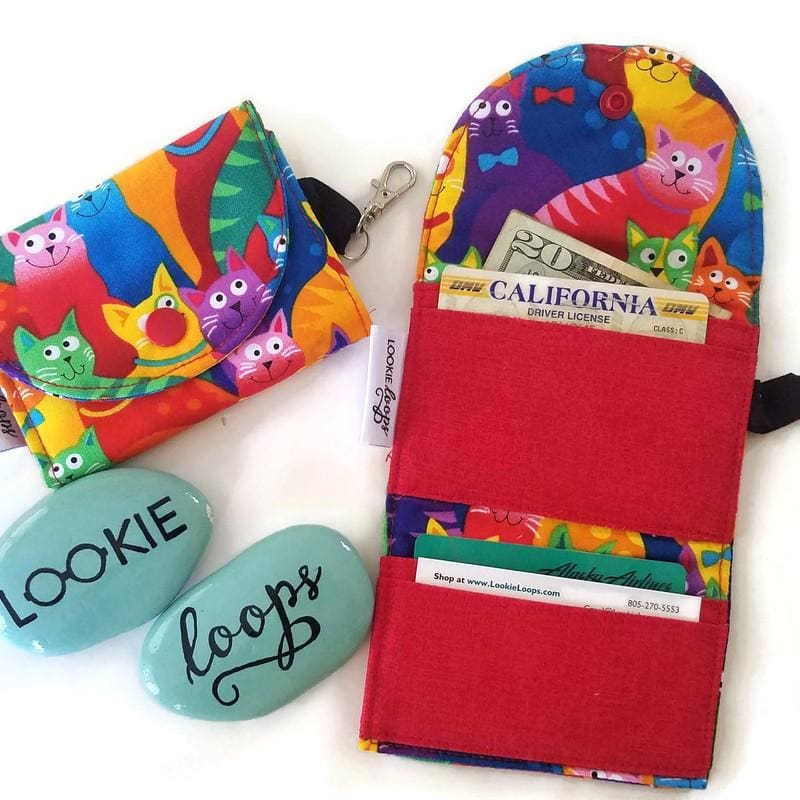 Happy Cats Grab & Go Wallet - Grab & Go Wallets