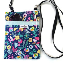 Load image into Gallery viewer, Hawaiian Flowers Fabric Crossbody Bag - Crossbody Bags