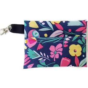 Hawaiian Flowers Face Mask with (optional) Carrying Pouch -