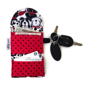 Stacked Dogs Grab & Go Wallet