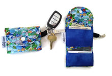 Load image into Gallery viewer, Sea Glass Grab & Go Wallet