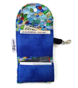 Sea Glass Grab & Go Wallet
