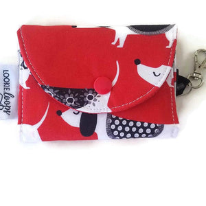 Doggie Print Grab & Go Wallet