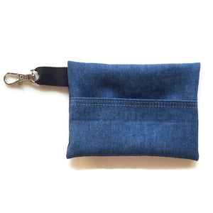 Lightweight Denim Face Mask with (optional) Clean & Carry