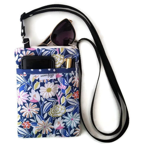 Penelope Fabric Crossbody Bag - Crossbody Bags