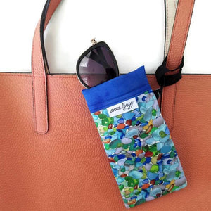 Sea Glass Cell Phone or Sunglass Case - Cell Phone /