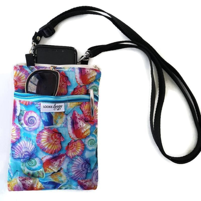 Shellz Fabric Crossbody Bag - Crossbody Bags