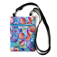Load image into Gallery viewer, Shellz Fabric Crossbody Bag - Crossbody Bags