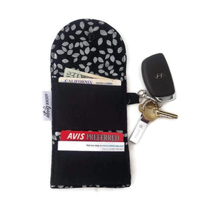 Silver Leaf Grab & Go Wallet - Grab & Go Wallets