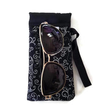 Load image into Gallery viewer, Silver Scroll Cell Phone or Sunglass Case - Cell Phone /
