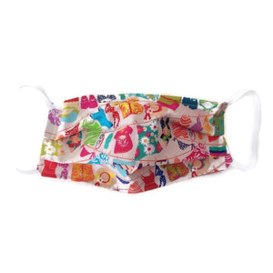 Summer Fun Face Mask with (optional) Clean & Carry Pouch -