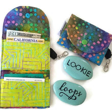 Load image into Gallery viewer, Tie-Dye Dots Grab & Go Wallet - Grab & Go Wallets