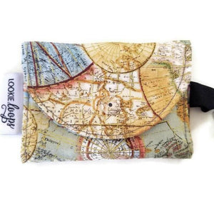 Travel Atlas Grab & Go Wallet - Grab & Go Wallets